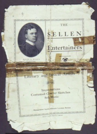 The Sellen Entertainers - A trio of literary and musical artists 1