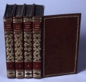 Leather Bindings with Gilt Spines 1